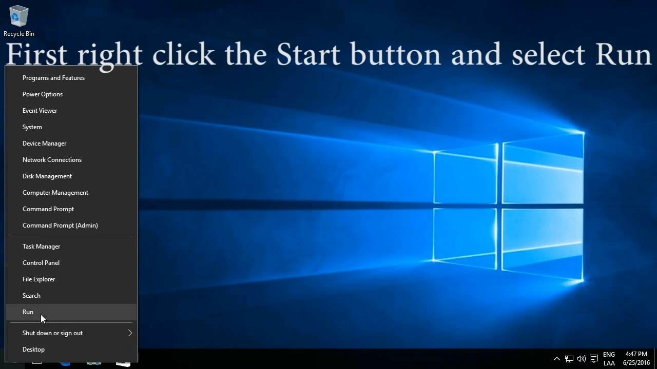 how to fix white blank icons on desktop in windows 10
