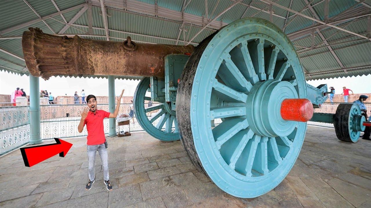Largest Canon In The World ! दुनिया की सबसे बड़ी और ताकतवर तोप | Super Size Monster