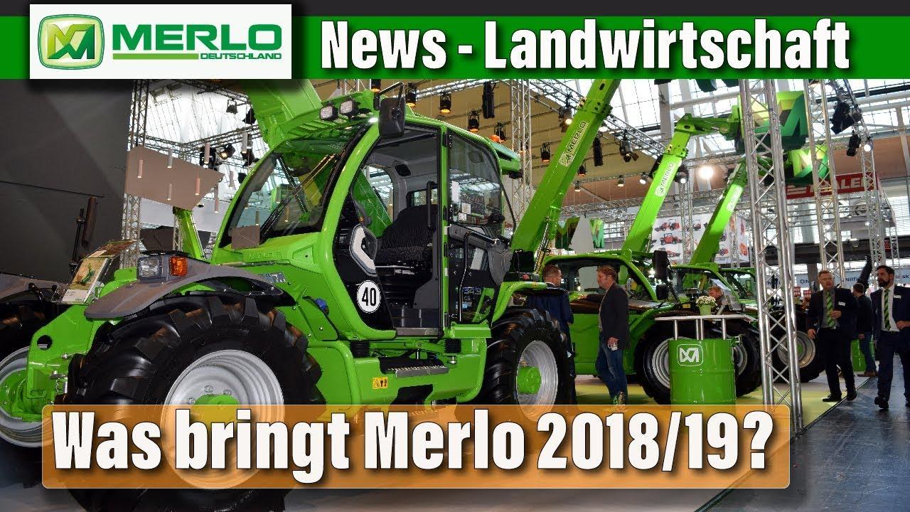 EuroTier 2018: Was leisten Merlo Teleskoplader für den Landwirt? (News)