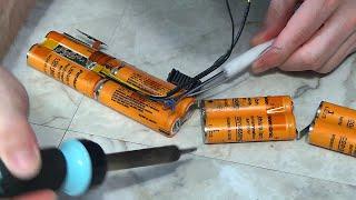 Rebuild Laptop Battery Pack