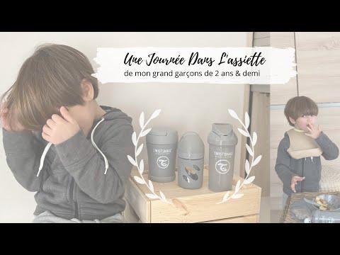 ❥ Une journée dans l'assiette de mon grand garçon de 2 ans & demi ╳ Idées & recettes