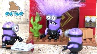 Скачать Fortress Break In Mega Bloks Миньоны Мультик Игрушки для Детей Игры для Детей Видео для Детей