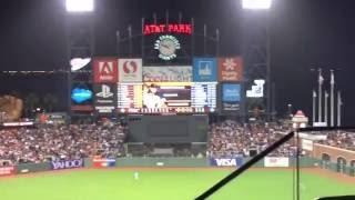 【MLB】AT&T パーク 球場の雰囲気 (SF Giants)