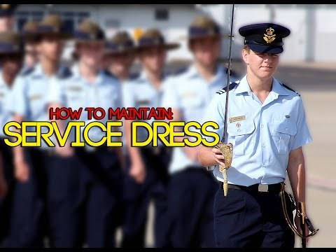 How to Maintain: Service Dress