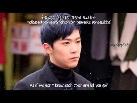 Lee Hong Ki   Words I Couldnt Say     English Subs  Romanization  Hangul HD