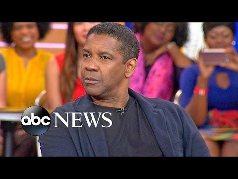 Denzel Washington Talks 'The Magnificent Seven' on 'GMA'