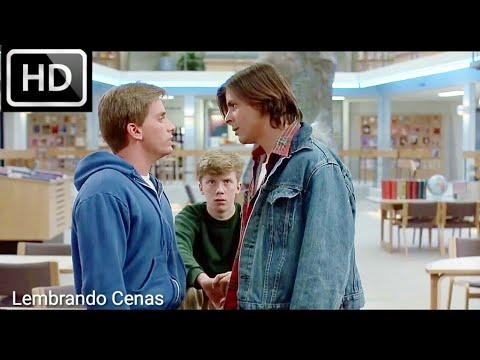 Clube dos Cinco (5/8) Filme/Clip - Andrew e Bender discussão (1985) HD