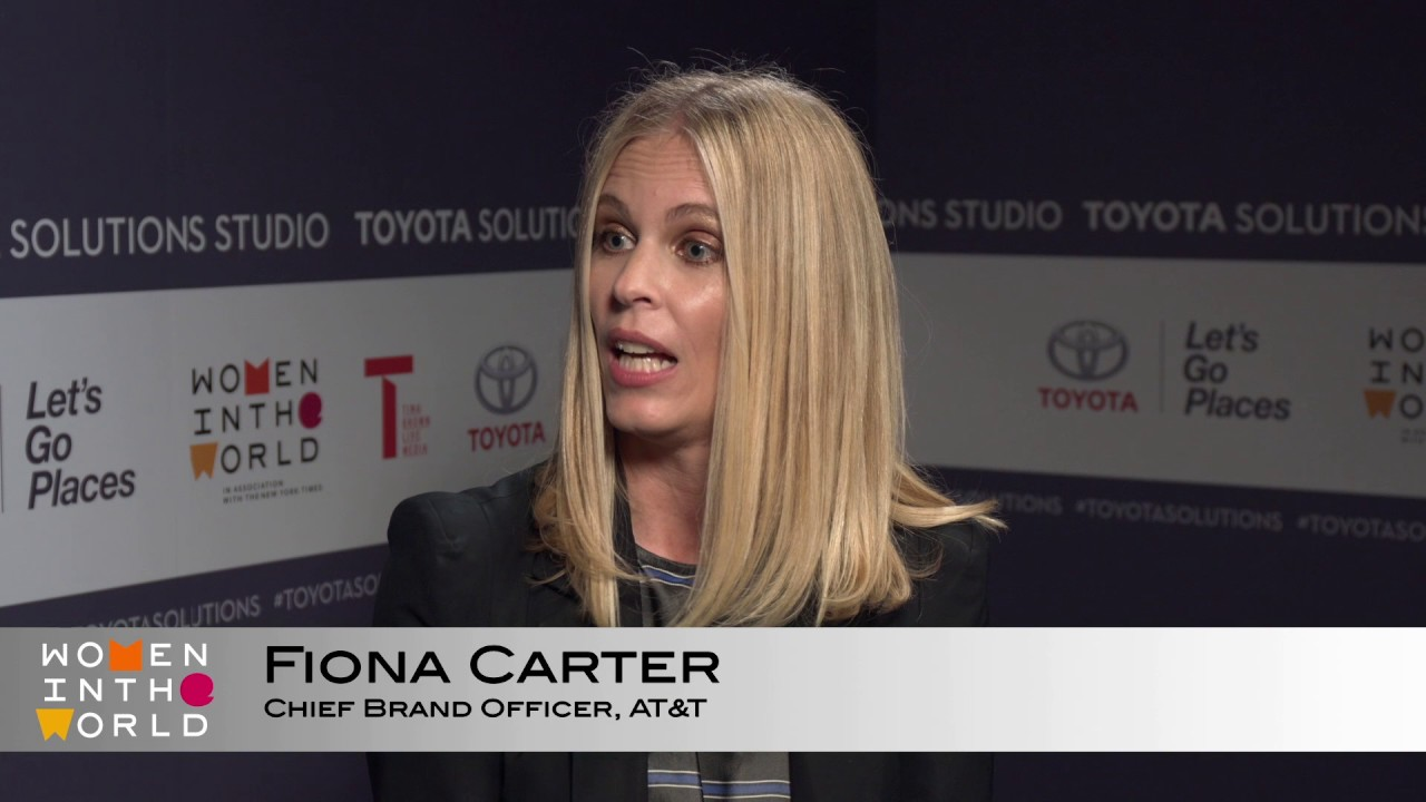 WITW TOYOTA SOLUTIONS STUDIO 2017: Fiona Carter - YouTube