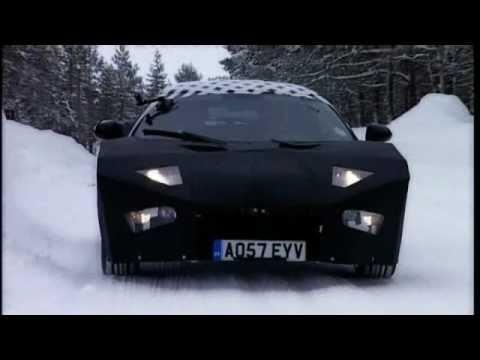 Lotus Cars Project Eagle testing