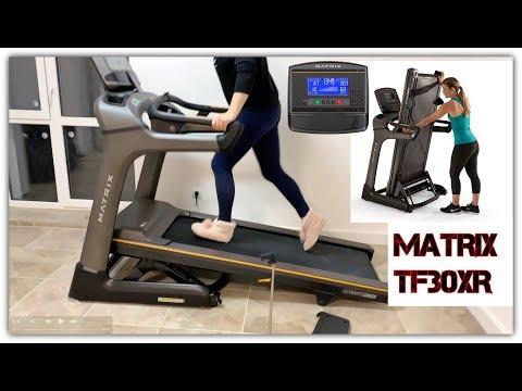 Беговая дорожка для дома  MATRIX TF30XR  професиональная складная беговая дорожка