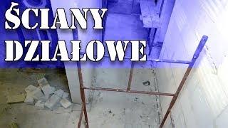 Dom za 100tys - Ściany działowe #40