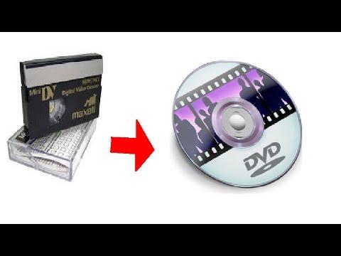 TUTORIAL Convertir cassettes camara antigua a dvd en HD