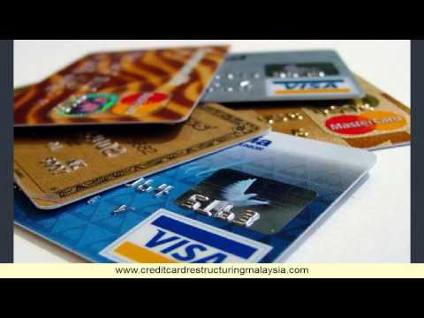 Restructure credit card