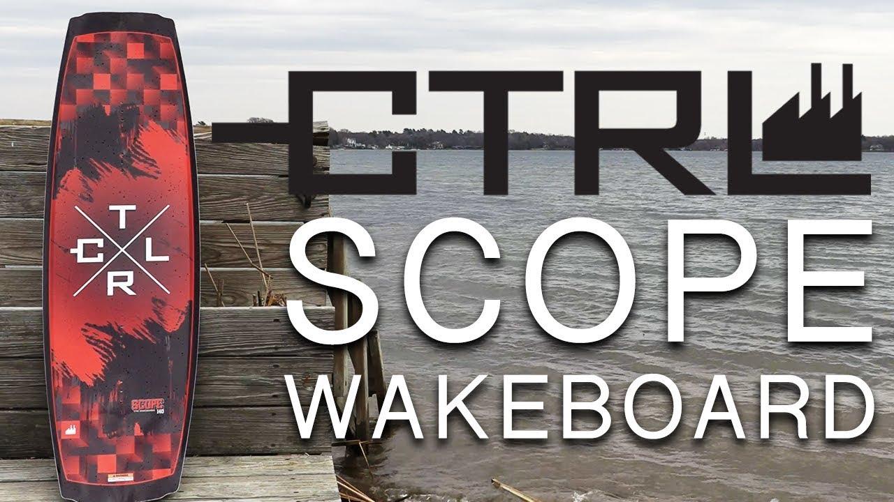CTRL Scope Wakeboard w Mens Bindings