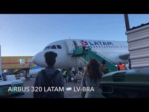 Aeroparque Santiago - premium economy - airbus 320
