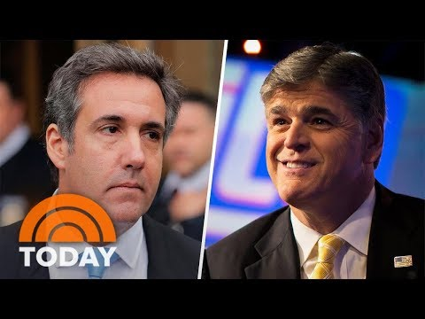 Fox's Sean Hannity Named As 'Mystery Client' Of Donald Trump's Lawyer Michael Cohen | TODAY