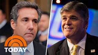 connectYoutube - Fox's Sean Hannity Named As 'Mystery Client' Of Donald Trump's Lawyer Michael Cohen | TODAY