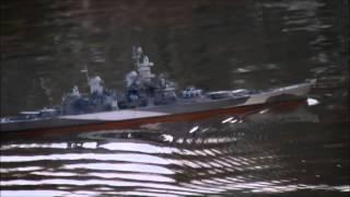 USS Missouri BB-63 1/350 R/C