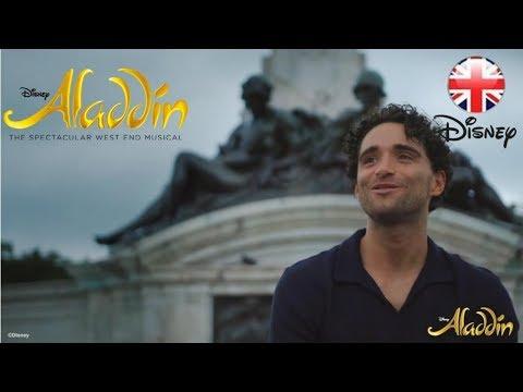 ALADDIN THE MUSICAL   Aladdin Star Matthew Croke sings 'Proud of Your Boy'   Official Disney UK