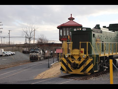 Railfanning around Reading, Pa 1-15-18