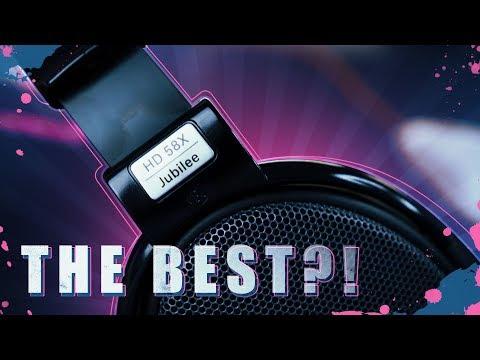 The BEST Headphones for Podcast, Streaming & Gaming?! Sennheiser HD 58X Jubilee Headphones [ON SALE]