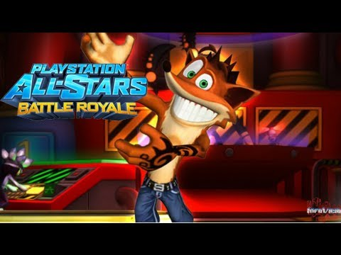 Playstation All-Stars Battle Royale | Español Gameplay Beta 4 | [1080p HD]