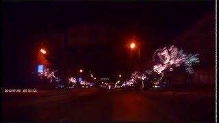 Луганск ночь декабрь 2015(Съемка ночного Луганска на видеорегистратор в декабре 2015 года. Время и дата на видеорегистраторе не правил..., 2016-02-16T20:12:51.000Z)