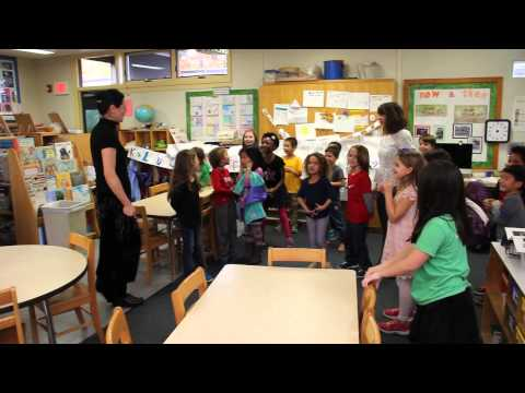 Foote School Students Sing Happy Birthday for Teacher
