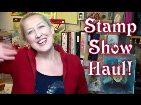 Stamp Show Haul and Thank Yous! - 동영상