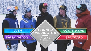 4-Star ATH Connor Wedington Announces Commitment With Wild Snowboard Race