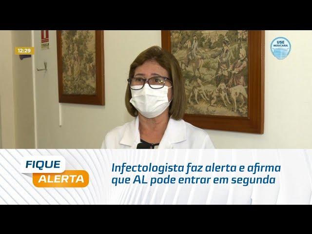 Infectologista faz alerta e afirma que Alagoas pode entrar em segunda onda da Covid-19