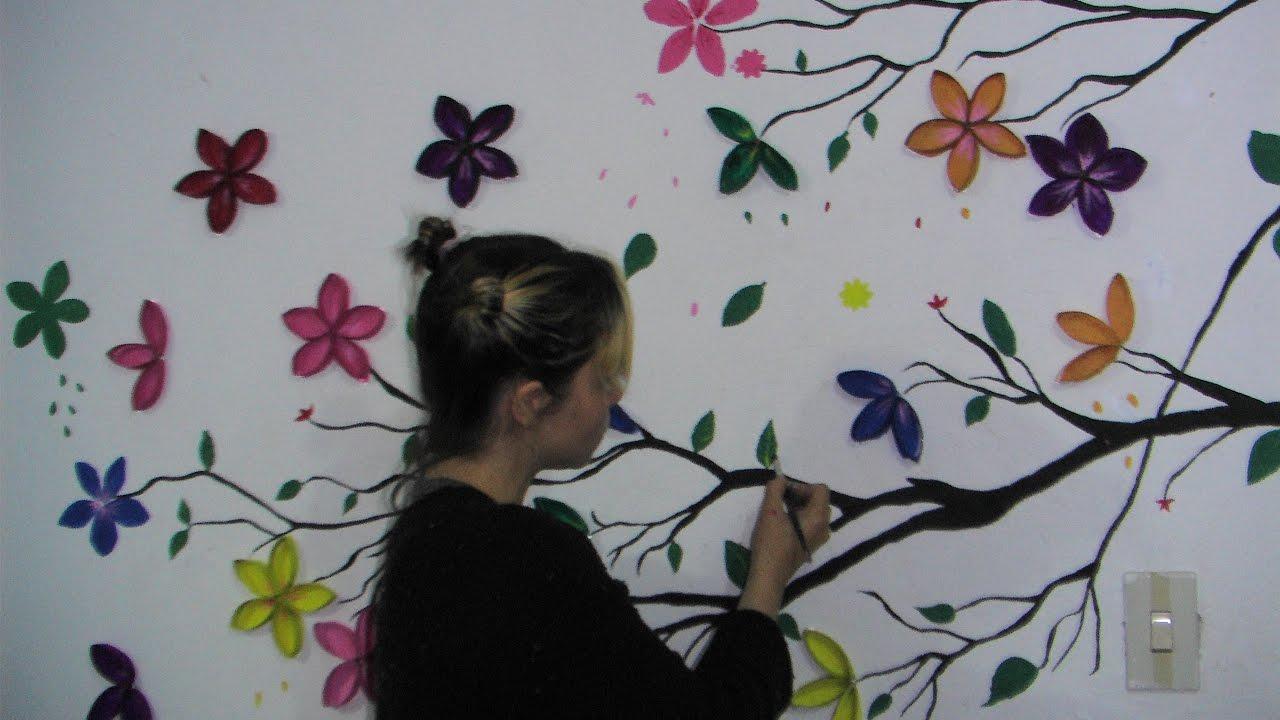 Como Hacer Un Mural Flores De Carton Myriamsilla Hernandez