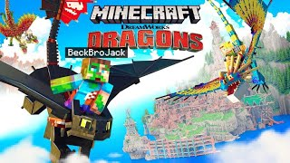 HOW TO TRAIN YOUR DRAGON in MINECRAFT! | Episode 1
