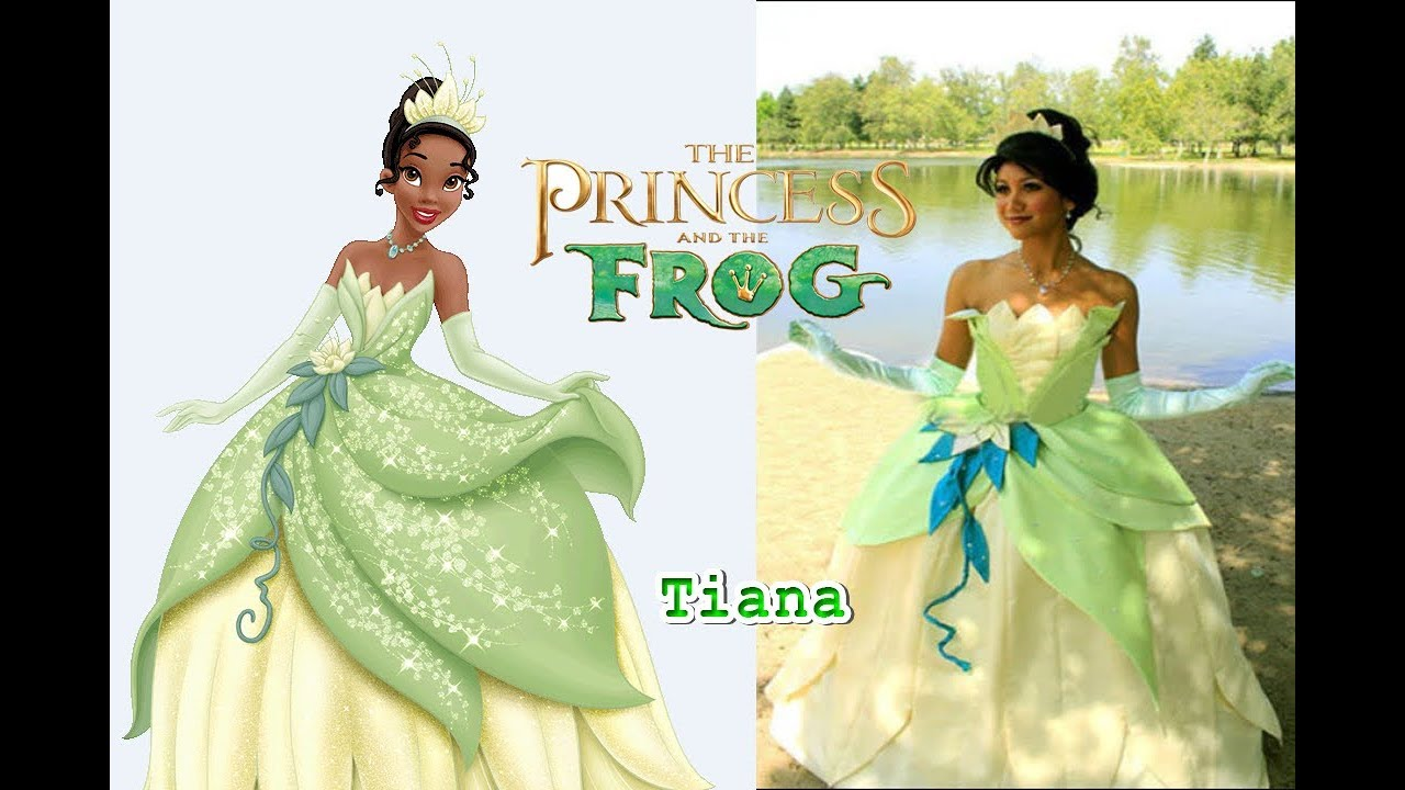 The Princess And The Frog In Real Life All Characters 2018 Omg