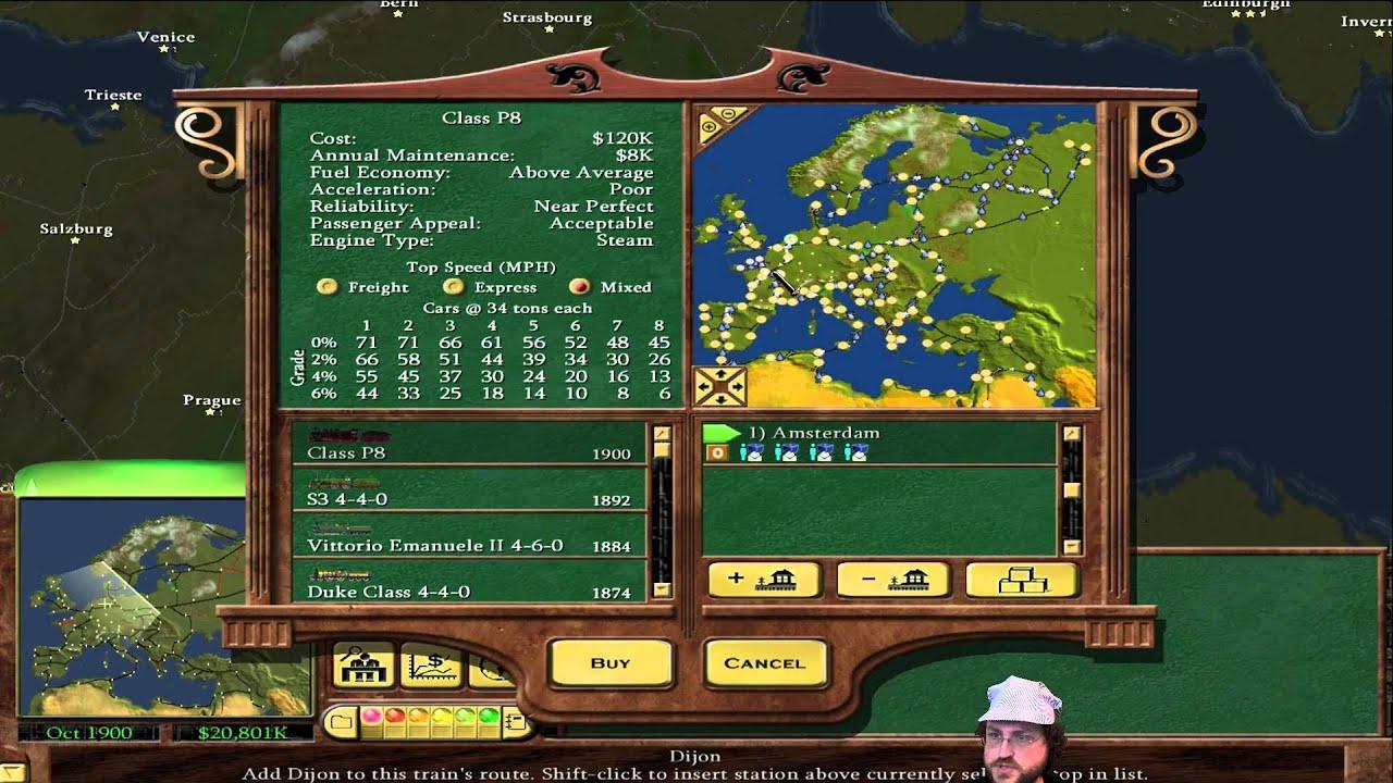 Railroad Tycoon 3 - European Tycoon! #5 [1 06 Fanpatch