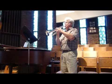 Allegro by Vivaldi - Trumpet Solo - Arr. Fitzgerald