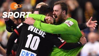 DHB-Team zieht ins Halbfinale ein   Handball-WM - ZDF
