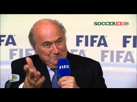 Blatter on re-election, Platini, World Cups in Qatar and Russia