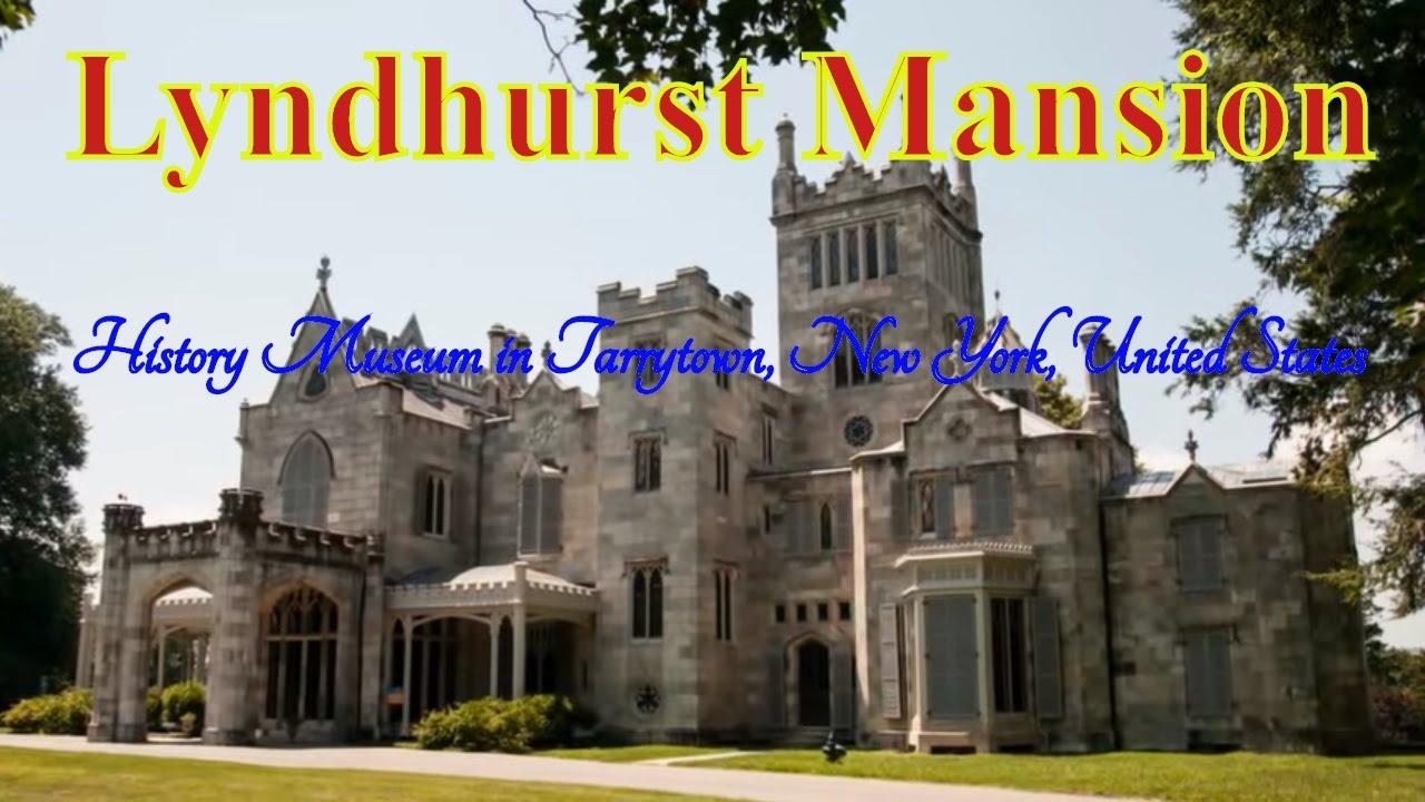 Visiting Lyndhurst Mansion History Museum In Tarrytown New York