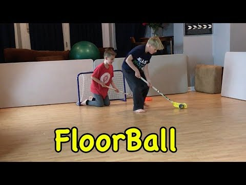 Kids HocKey FloorBall Cbanks takes on Beast Mode