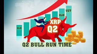 Q2 BULL RUN TIME ( XRP XLM VET  ) New Hidden Gem Ripple Backed
