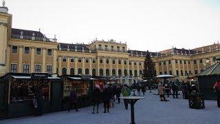 Vánoční Vídeň 2018 - Schönbrunn,Stephanplatz,Freyung -/Christmas markets in Vienna/ 28.11.2018.