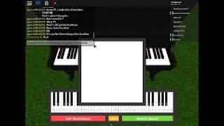 wie man die Windows xp Startsound auf dem roblox Piano abspielen