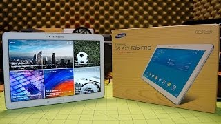 Samsung Galaxy Tab Pro 10.1: Unboxing and Hardware Tour
