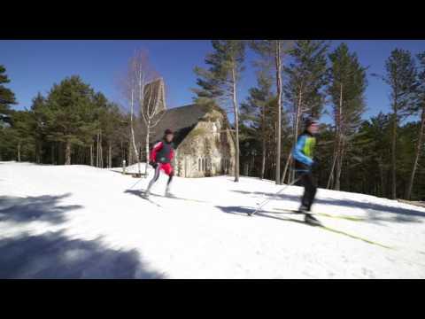 Video promocional de les estacions d'esquí nòrdic catalanes
