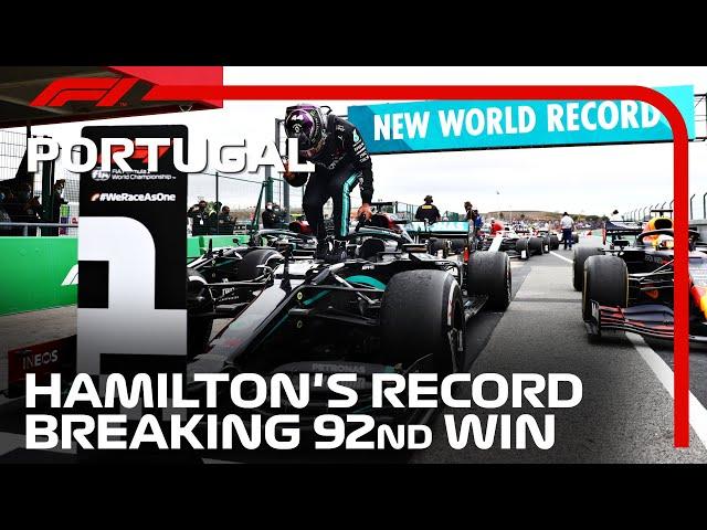 Lewis Hamilton's Record-Breaking 92nd Win | 2020 Portuguese Grand Prix