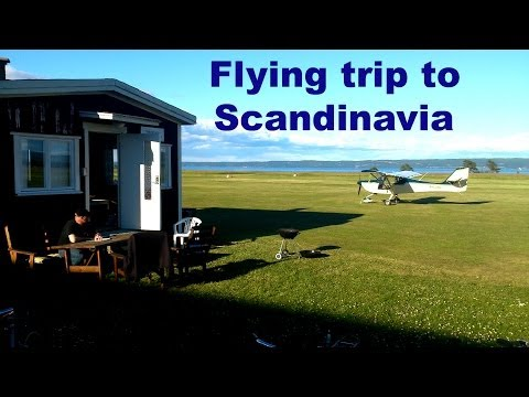 Flying trip to Scandinavia