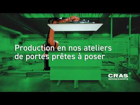 Production en nos ateliers de portes prêtes à poser