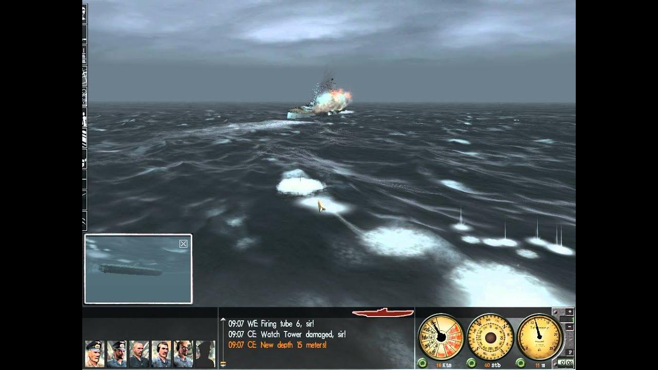 Lets Play Silent Hunter 3 Mission 2 Bismark