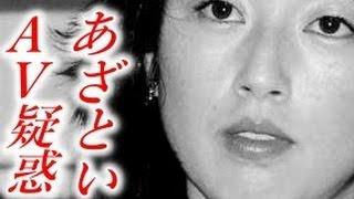 高岡早紀さん。妖艶で色っぽい女優さんです。 50際に手が届きそうなのに...